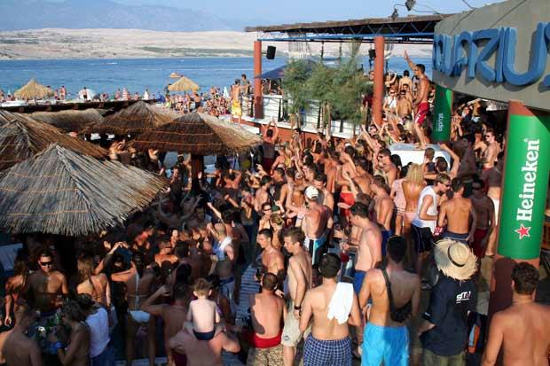 Partyinsel Kroatien